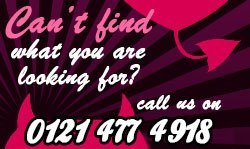 Can't find what you are looking for? Call us on 0845 658 8404